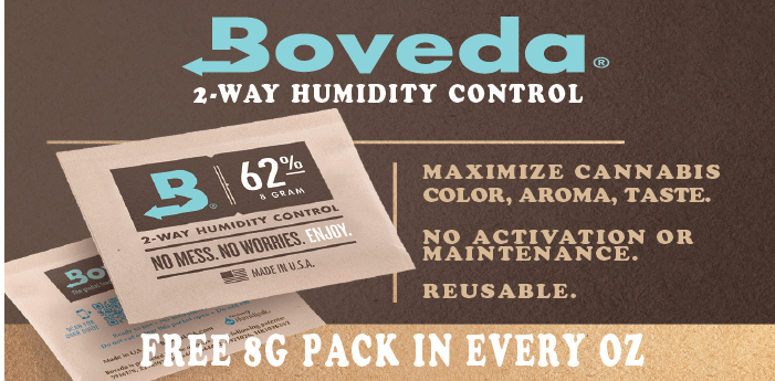 MMJDirect.ca uses Boveda Humidy Packs