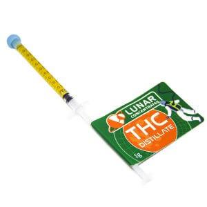 THC Distillate - 1ml syringe
