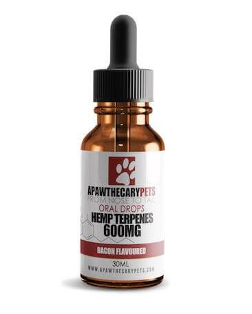 Bacon Tincture for Pets by ApawthecaryPets - 600mg CBD per bottle