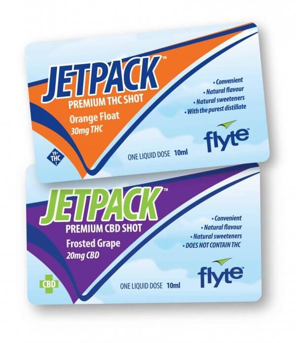 Jet Pack THC & CBD shots