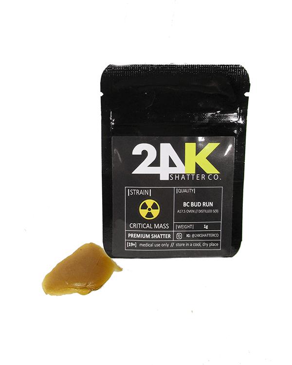 24K premium Shatter - Critical Mas