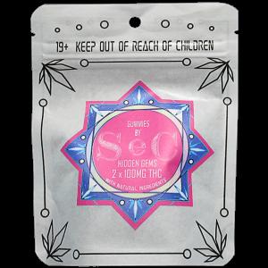 Hidden Gems THC Gummies by SeC