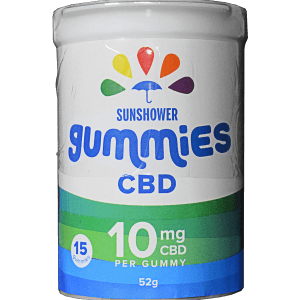 Sunshower CBD Gummies by Baked Edibles