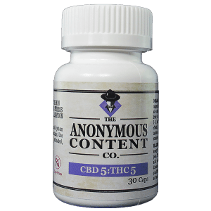 30 pack of Anonymous 5:5mg CBD:THC