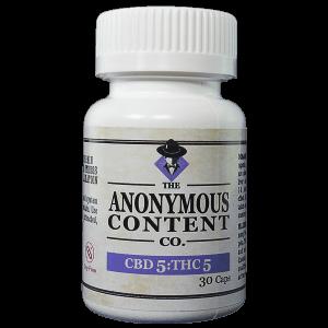 30 pack of Anonymous 5:5mg CBD:THC