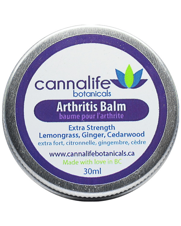 Cannalife Arthritis Balm in tin