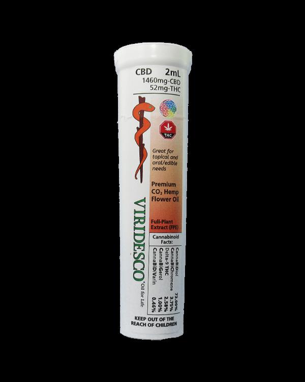 Premium C02 Hemp Flower Oil - 73% CBD
