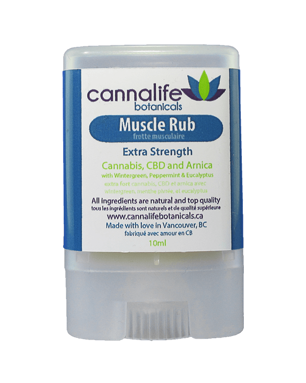 Cannabis Infused Muscle Rub