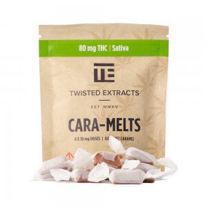 Twisted Extracts 1:1 Cara Melts - sativa