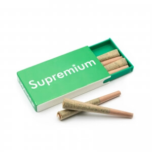 Supremium Pre-rolled Hybrid cannabis cone joints - pack of 6