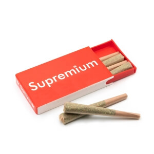 Supremium Pre-rolled cannabis cone joints - pack of 6