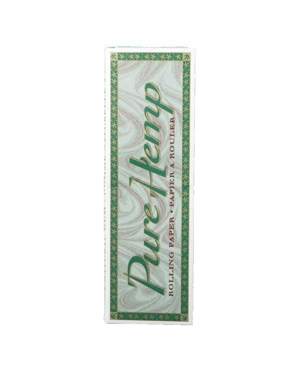 Pure Hemp Rolling papers - single wide classic size