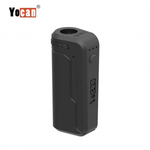 Yocan UNI Box Mod fits all 510 Vape cartridges - Black