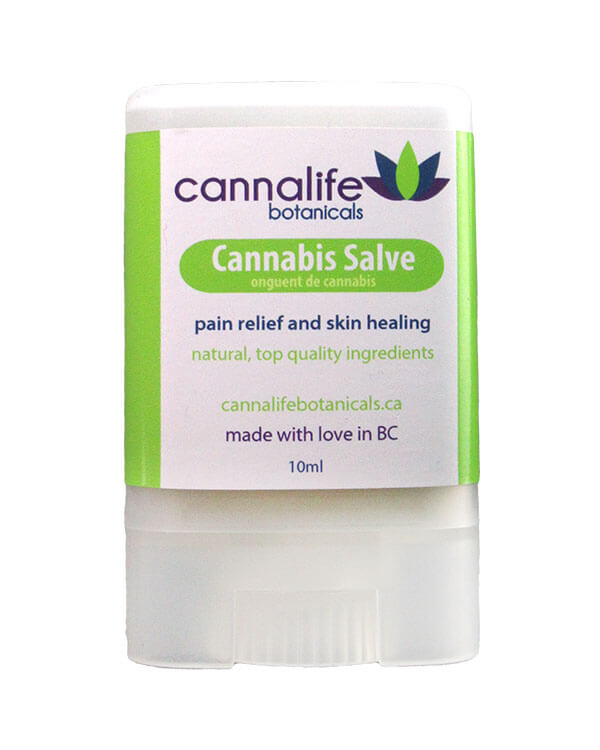Cannabis Salve from Cannalife botanicals 10 ml stick