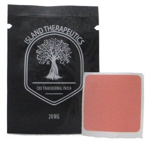 Transdermal CBD pain relief patch (20mg CBD each)