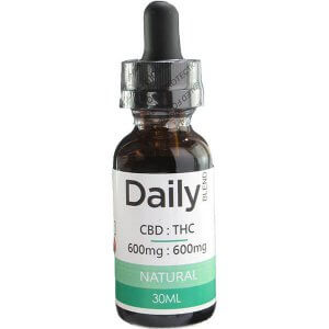 Zen Daily Blend 600Mg CBD. 600Mg THC in 30ml Natual Co2 Oil