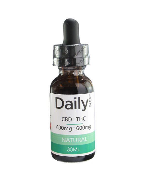 Zen Daily Blend 600Mg CBD. 600Mg THC in 30ml Natual Co2 Oil