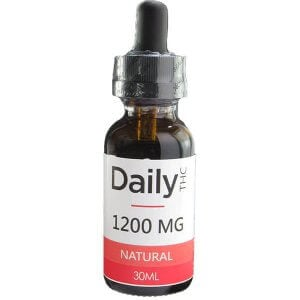 Zen Daily THC Co2 Oil 1200mg 30ml Natural oil
