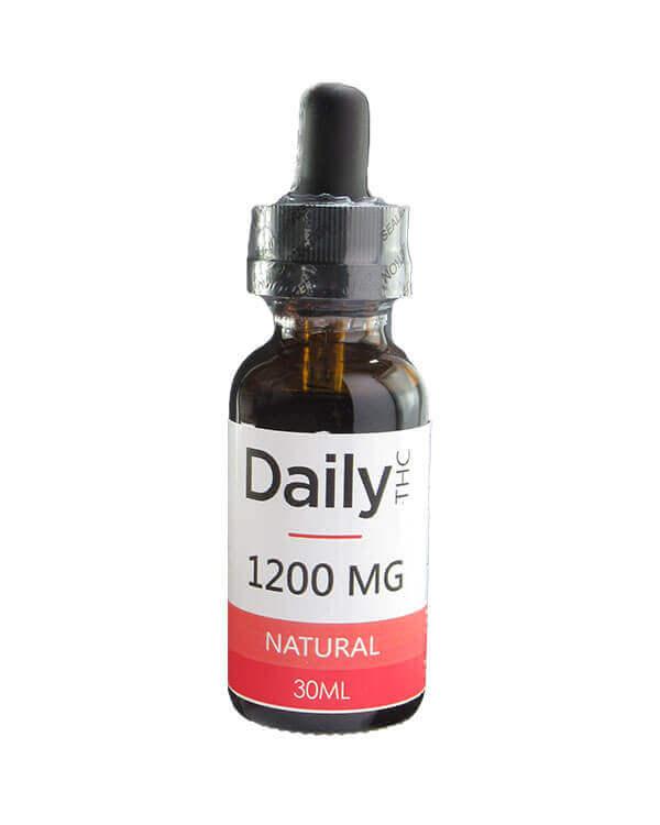 Zen Daily THC Co2 Oil 1200mg 30ml Natural oil