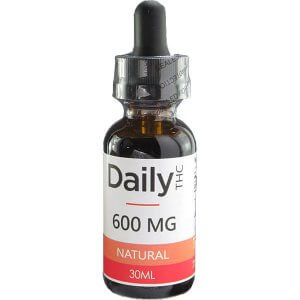 Zen Daily THC Co2 Oil 600mg 30ml