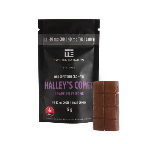 Halley's Comet Grape Jelly Bomb by Twisted Extracts