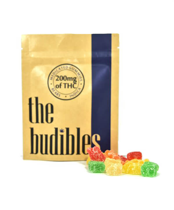 Budibles THC infused Bears Gummy Candies